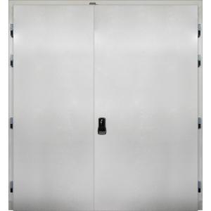 Drzwi Uchylne 140/200 Nawierzchniowe Chłodnicze Dwuskrzydłowe