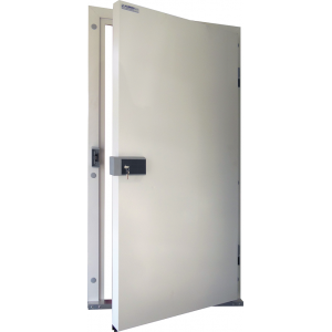 Drzwi Uchylne 80/200 Nawierzchniowe Mroźnicze Jednoskrzydłowe