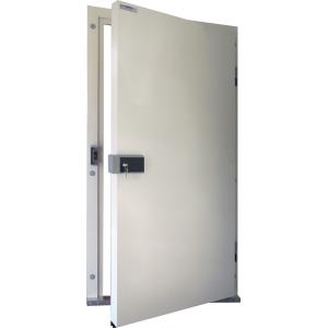 Drzwi Uchylne 90/200 Nawierzchniowe Mroźnicze Jednoskrzydłowe