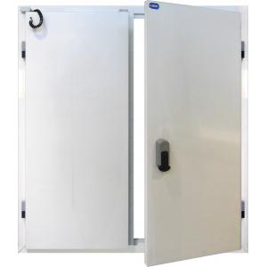 Drzwi Uchylne 140/200 Nawierzchniowe Mroźnicze Dwuskrzydłowe