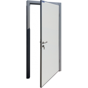 Drzwi Uchylne 100/200 Zlicowane Chłodnicze Jednoskrzydłowe