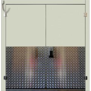 Drzwi Uchylne Zlicowane Mroźnicze 160/200 Dwuskrzydłowe