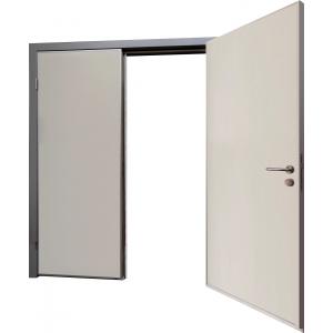 Drzwi Techniczne Zlicowane 140/200 Dwuskrzydłowe