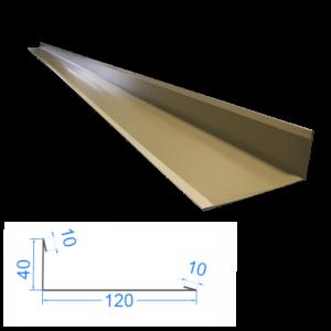 Profil L zewnętrzny 10x40x120x10mm