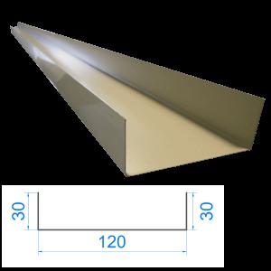 Profil C ceownik 30x120x30mm