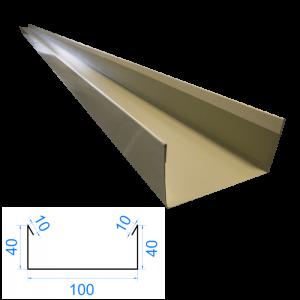 Profil C ceownik 10x40x60x40x10mm