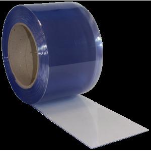 Folia do kurtyn paskowych PVC 2x200 mm przezroczysta z odcieniem błękitu