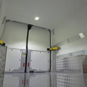 Glasliner wykorzystany w zabudowie auto chłodni