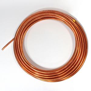 RURA MIEDZIANA 22 mm miękka chłodnicza EN12735-1