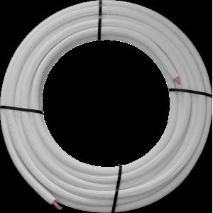 Rura miedziana 1/4 cala w izolacji 0,8 cm (25mb)